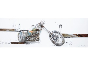 Motorcycle Metal Art
