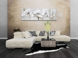 Lustrous Flower Oil Painting Floral Wall Art